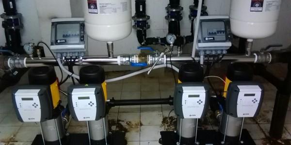 Equipos industriales de suministros de agua